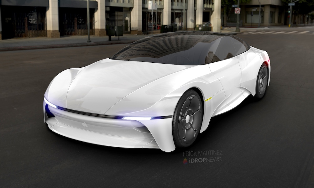 Quanta начала поставки компонентов для беспилотных автомобилей Apple