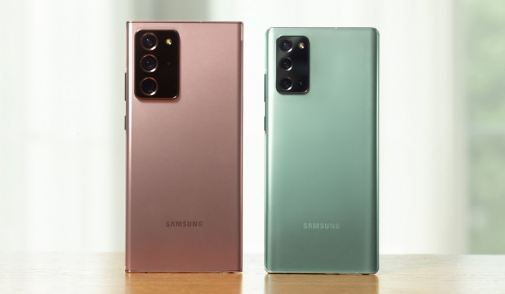 Samsung представила флагманы Galaxy Note20 и Galaxy Note20 Ultra