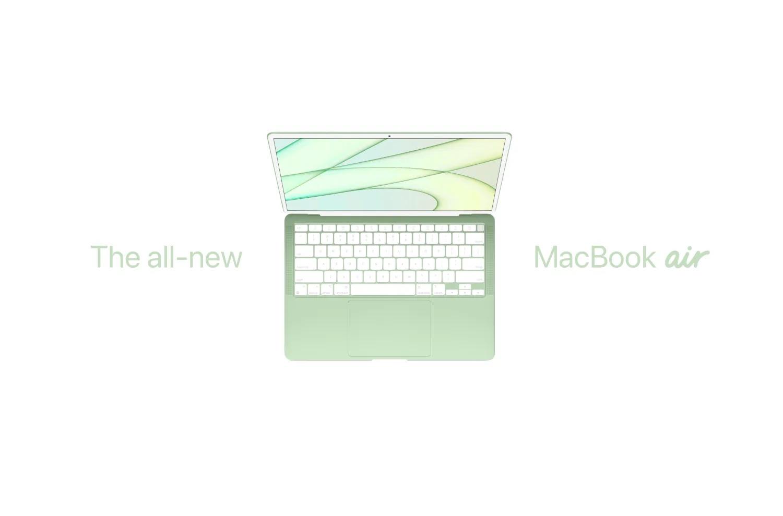 Apple выпустит новый MacBook Air с более быстрым процессором в конце 2021 года