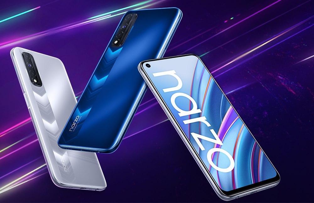 Realme официально представила недорогой смартфон Narzo 30
