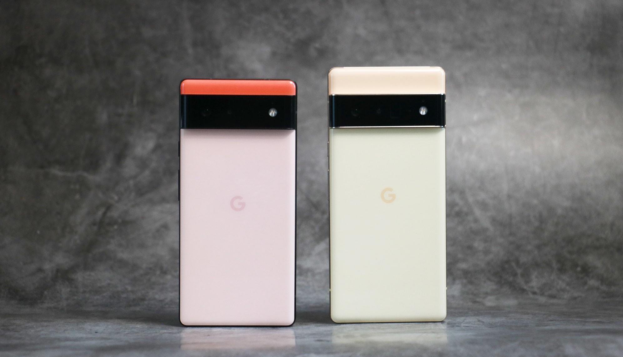 Google представила флагманские смартфоны Pixel 6 и Pixel 6 Pro с чипом Tensor собственной разработки
